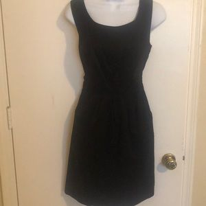 MOSSIMO Little Black Dress Fully Lined 6